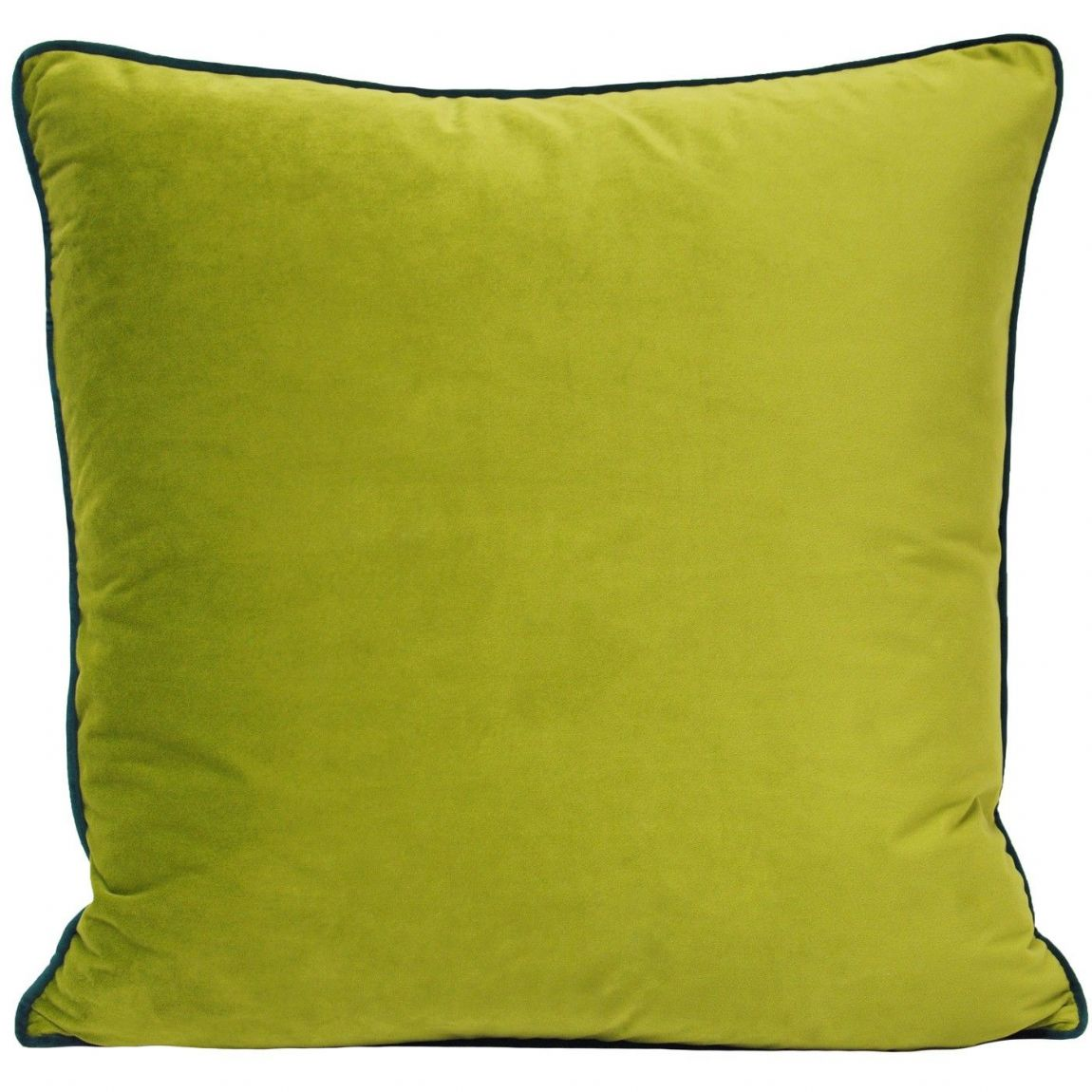 Chatruse Green & Emerald Velvet Cushion